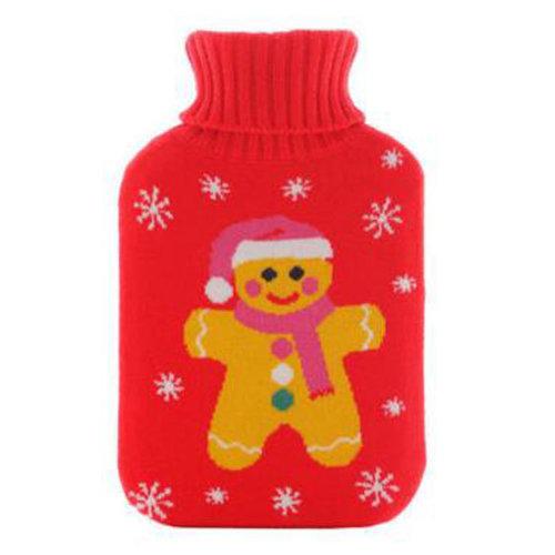 Warm Cute Hot-Water Bottle Water Bag Water Injection Handwarmer Pocket Cozy Comfort,M