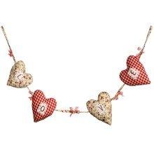 Garland of Love Hearts