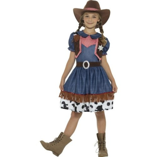 4-6 Years Blue Girls Texan Cowgirl Costume - Dress Fancy Wild Western Outfit - texan cowgirl dress costume fancy girls wild western outfit childs  sc 1 st  OnBuy & 4-6 Years Blue Girls Texan Cowgirl Costume - Dress Fancy Wild ...