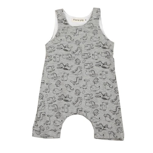 Newborn Baby Boys ROMPER Print Dinosaur Print Romper Jumpsuit Clothes Outfits Costume BABY ROMPERS SUMMER E0 Drop ship