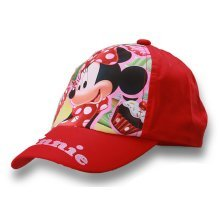 Minnie Mouse Baseball Cap - Red