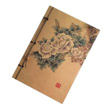 Schedule Book Artistic Chinese Style Business Notebook Travel Diary Notebook