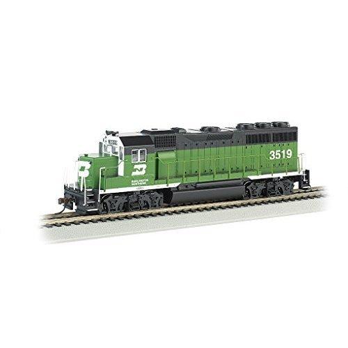 Bachmann Industries EMD GP40 DCC Ready Locomotive Burlington Northern 3519 187 HO Scale