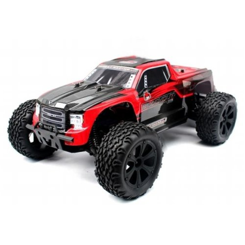 Blackout XTE Scale Electric Monster Truck - Red