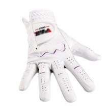 Summer Sun-proof Golf Gloves Women Protection Non-slip,White&Purple(#18)