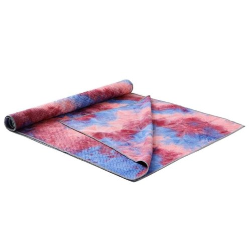 [T] Non-Slip Yoga Towel Sweat Absorbent Yoga Mat Towel Yoga Blanket