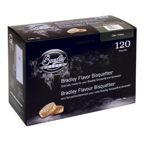 Bradley Smoker Oak 120 Pack
