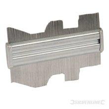 150mm Silverline Steel Profile Gauge - 598573 -  steel gauge profile 150mm silverline 598573