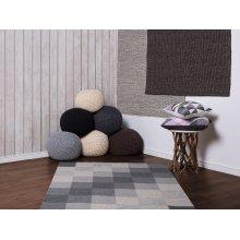 Rug - Carpet - Hand Tufted - Wool - - Grey and Beige - NIZIP