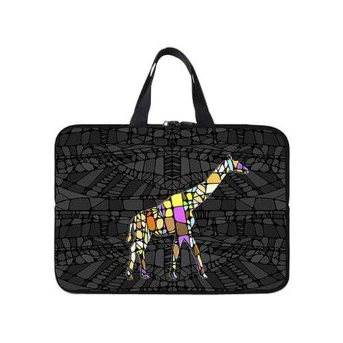 Creative Laptop Computer Briefcases Computer Laptop Bag Laptop Sleeve(Giraffe)