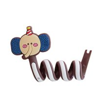 [Elephant] 4pcs Earphone Cable Winder Cable Organizer Wire Winder
