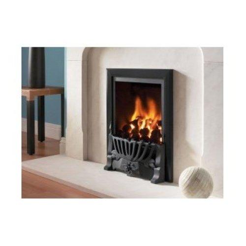 Designer Fire - Flavel FRDC26RN2 Black Kenilworth Traditional Gas Fire - RC