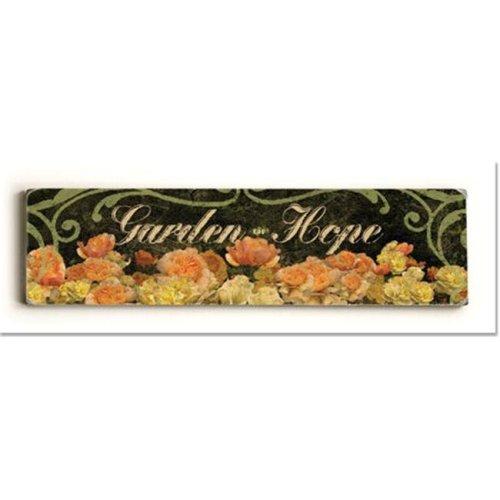 ArteHouse 0003-2599-24 Garden Hope Vintage Sign
