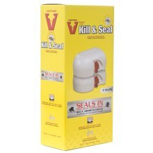 Victor Pest Control M265 Kill & Seal Hygienic Mouse Trap 2 Pack