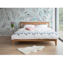 Bed - Super King Size Bed Frame - Wooden - CALAIS