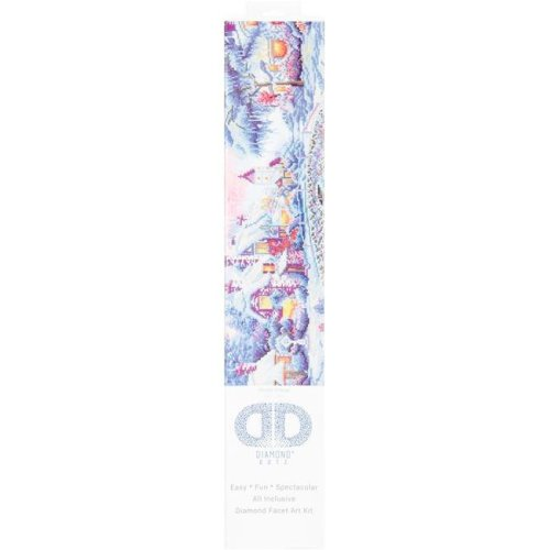 Diamond Dotz Diamond Embroidery Facet Art Kit, 21.75 x 29 in. - Winter Village