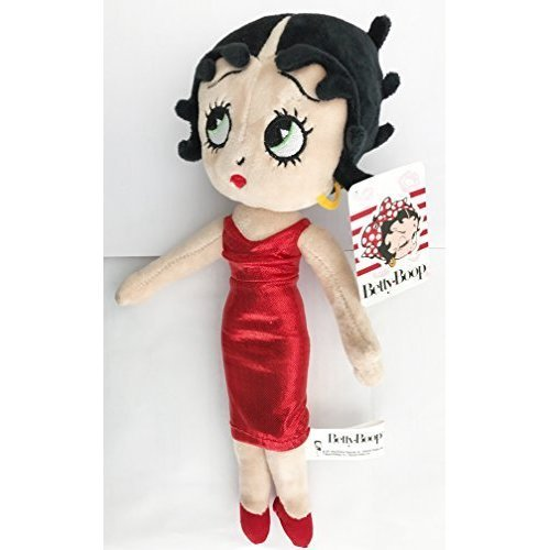 """12"""" Betty Boop Plush Dressed In Red Dress - 12 -  12 betty boop plush dressed red"""