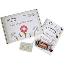 Raspberry Pi Discovery Kit - Includes 13 Projects / Tutorials, 32 Components, Solderless Circuit board, 42 page booklet.
