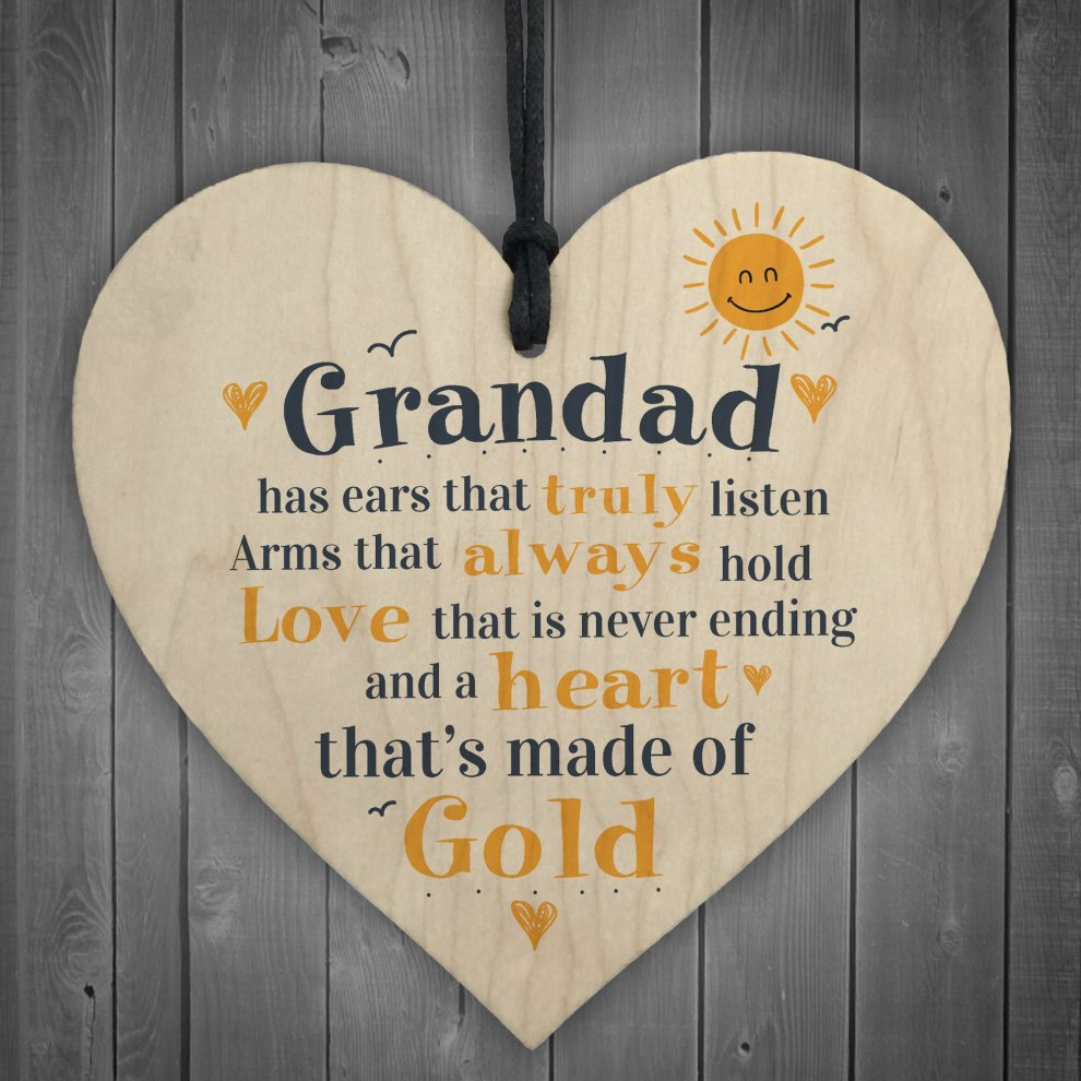 OULII Dad Plaque Dads Gifts Grandad