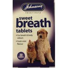 Sweet breath tablets.