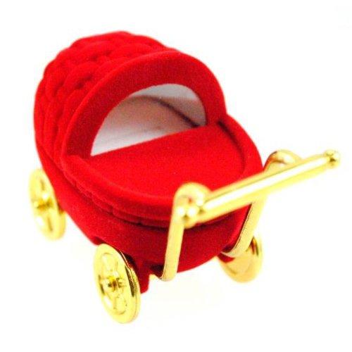 Red Pram Ring Box