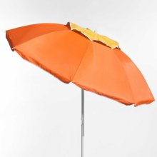 Beach Parasol Aluminium Pole Anti UV Windproof 180cm CORSICA