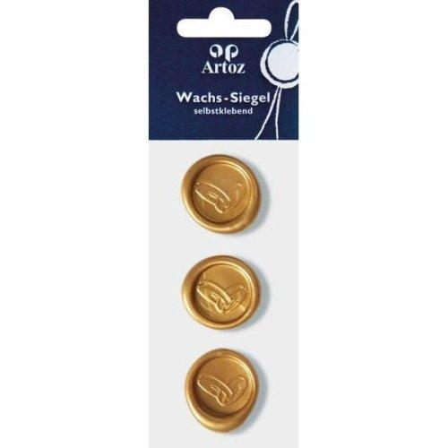 Gold Wedding Rings Wax Seals By Artoz