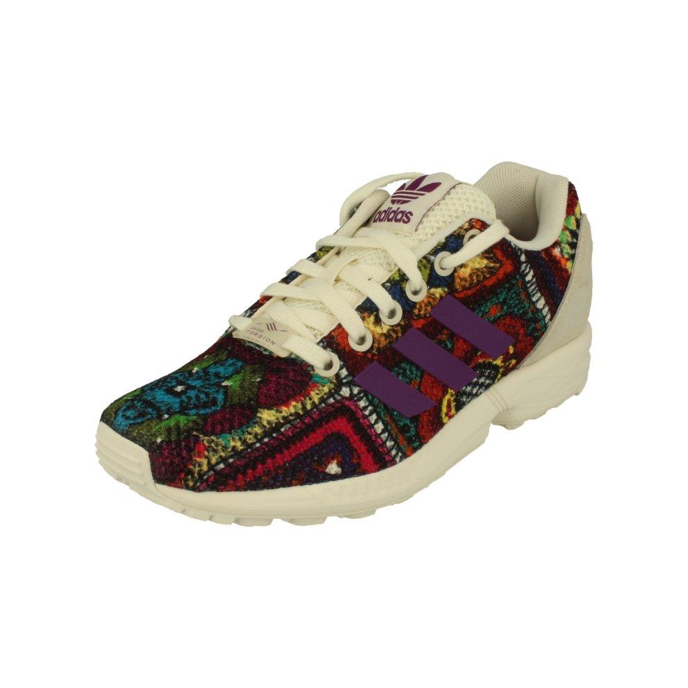 classic fit 5ecdb ed21c Adidas Originals Zx Flux Womens Running Trainers Sneakers