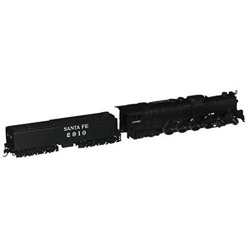 Bachmann Industries Northern 4-8-4 Santa FE Steam Locomotive with Operating Headlight & 52\' Tender (N Scale)