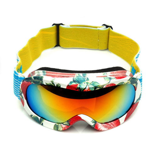 Print Goggles Cute Goggles for Kid Snowboard/Ski/Rollerskate Goggles Strawberry