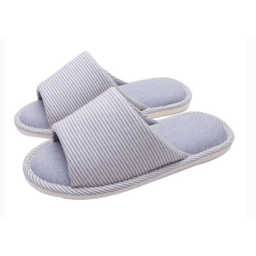 (Made By Cotton)Skidproof The Simple Style Of Home Slippers(Blue)