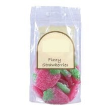170g Bag of Fizzy Strawberry Sweets