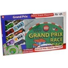 A To Z Grand Prix Race Track Giant Playmat - Cars Kids Toys 10 Diecast Motor 3 -  cars kids race track toys grand prix 10 diecast motor 3 yrs xmas