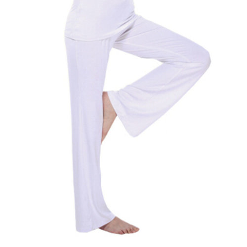 Women Women's Super Soft Modal Yoga Gym Workout Track Lounge Pants?white