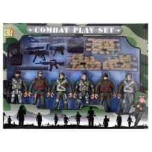Kids' Combat Play Set | Children's Army Action Figure Set