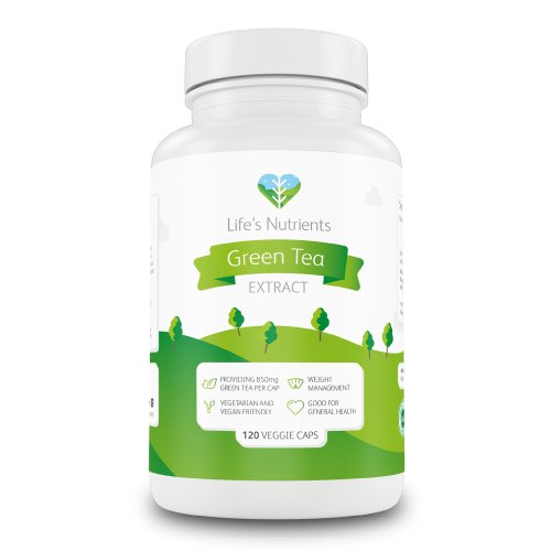 Green Tea Extract Providing 850mg | 120 Capsules | Natural Appetite suppressant and Advanced Weight Management | Vegan and Vegetarian Friendly |...