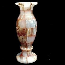 Onyx Marble Vase Gemstone Ornament