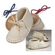Make Your Own Easy-fit Baby Shoe Kit -  make your own easyfit baby shoe tandy leather craft 460800 design hand