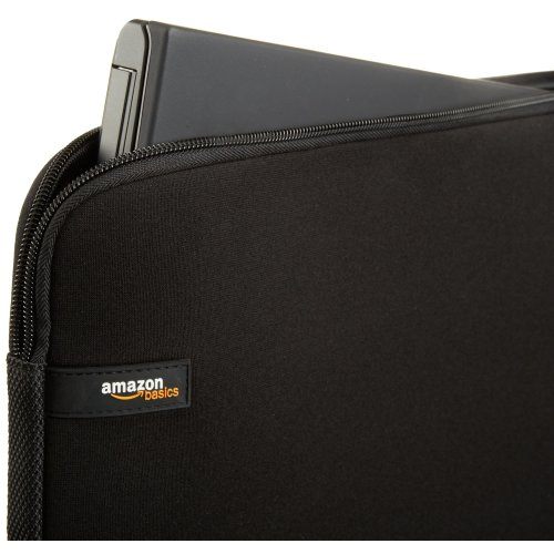 AmazonBasics Laptop Sleeve for 13.3-Inch Laptop Black