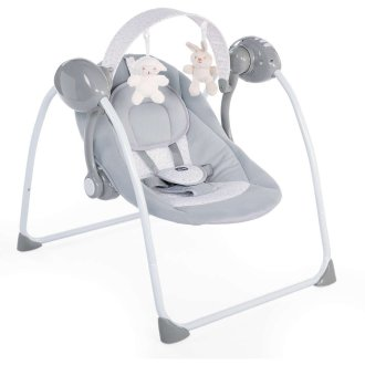 Chicco Relax and Play Swing - Cool Grey
