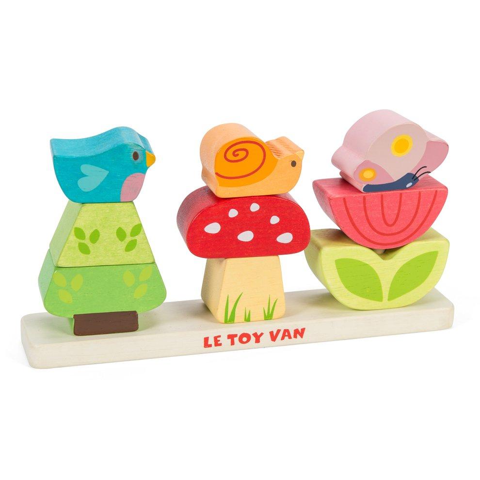 Le Toy Van Petilou Wooden My Stacking Garden