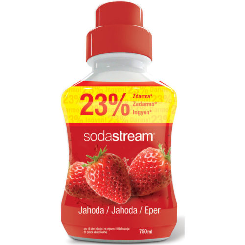 Sodastream Concentrate Syrup 750ml. Strawberry
