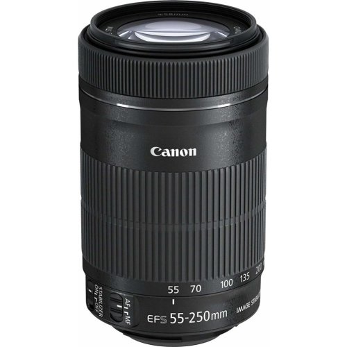 Canon EF-S 55-250mm F4-5.6 IS STM Lens | Compact Telephoto Lens