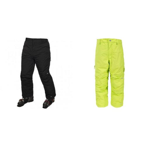 Trespass Kids Unisex Contamines Padded Ski Pants