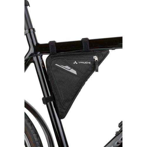 Vaude Triangle Bag - Black ,23 x 23 x 4 cm, 1,3 Liter