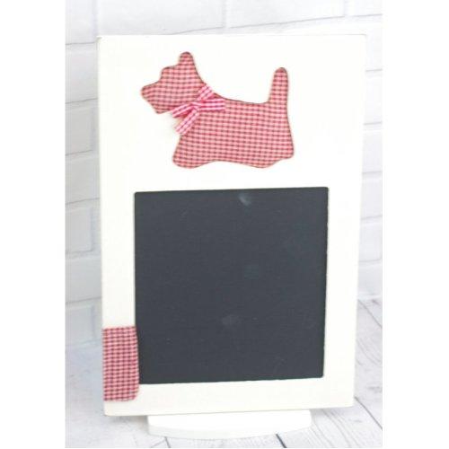 Wall Chalkboard Scottie Dog Memo Board F0271