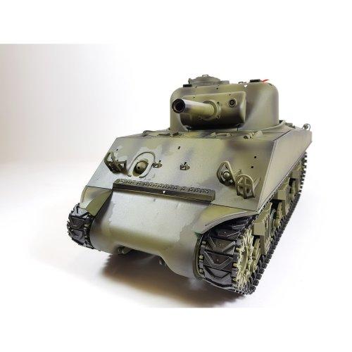 Heng Long 1/16 M4A3 Sherman Radio Control RC Tank Smoke & Sound 2.4Ghz