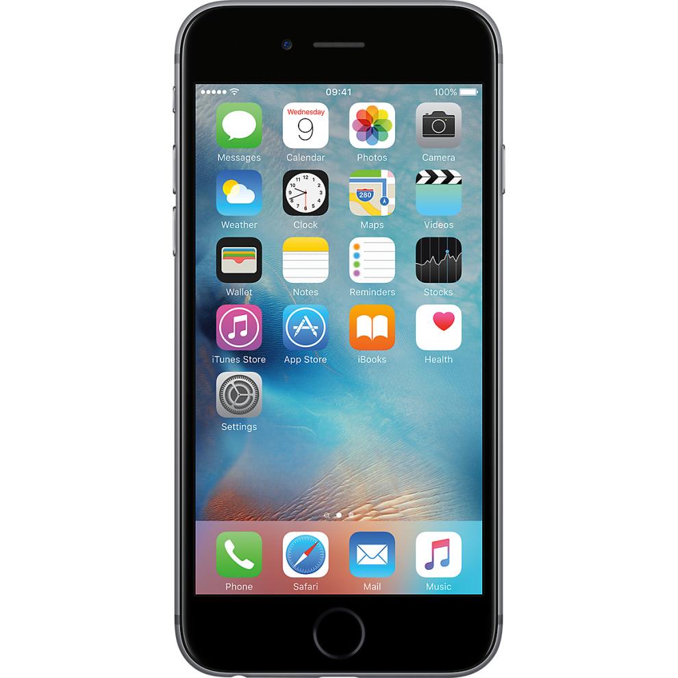 O2, 16GB Apple iPhone 6s Space Grey