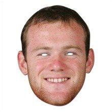 Wayne Rooney Celebrity Face Mask