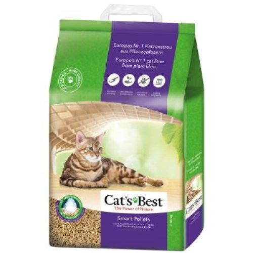 Cats Best Smart Pellet (nature Gold) Clumping Cat Litter 10kg (20l)